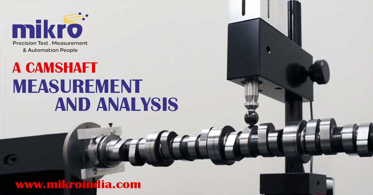 camshaft measurement and analysis