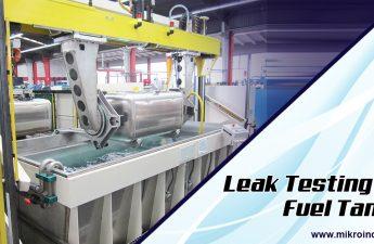 Leak testing of fuel tanks