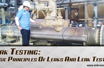 Leak testing: basic principles of leaks and leak testing